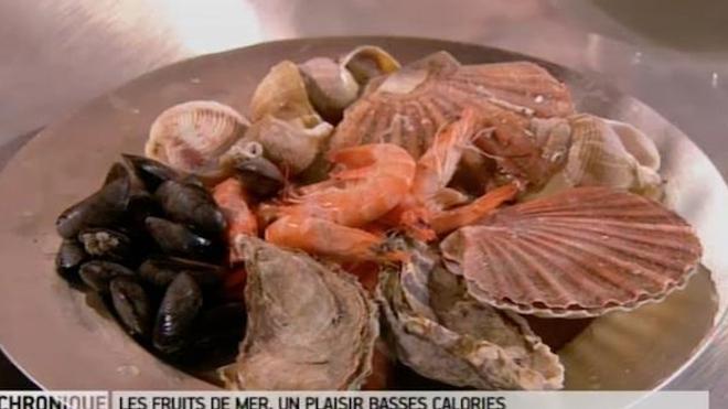 Recette : les fruits de mer, un plaisir basses calories