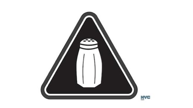 A New York, un logo alerte sur les menus trop salés