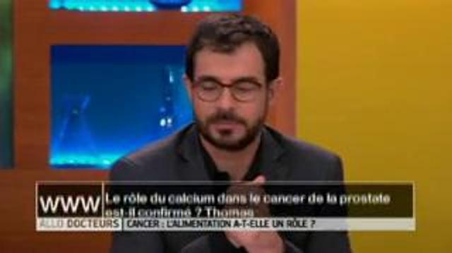 Le rôle du calcium dans le cancer de la prostate est-il confirmé?