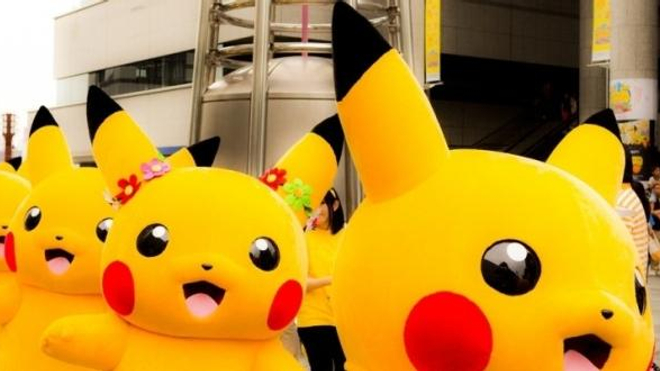 La chasse aux Pokemon, c'est du sport !