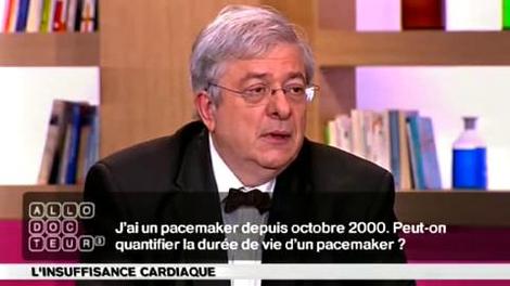 Quelle est la durée de vie d'un pacemaker ?