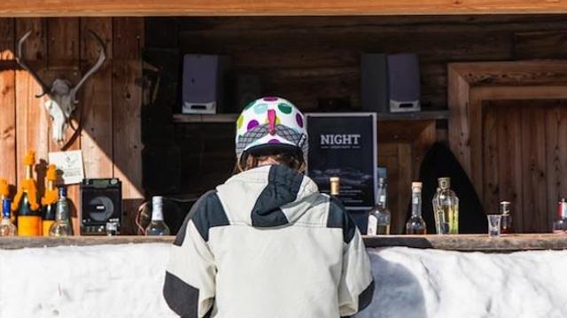 L'alcool et le ski ne vont pas de pair