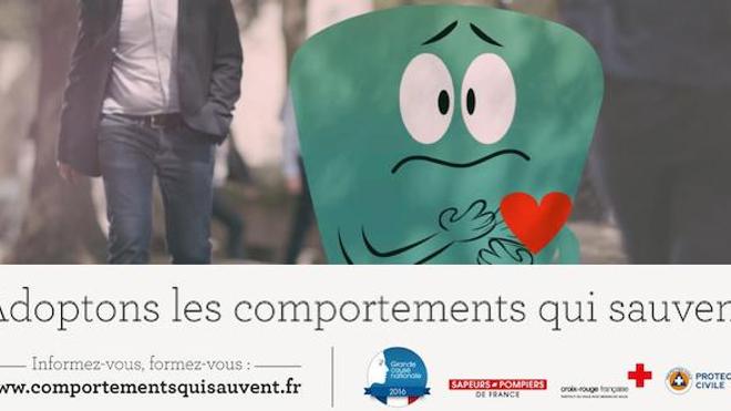 """Gestes qui sauvent : une campagne pour """"s'informer et se former"""""""