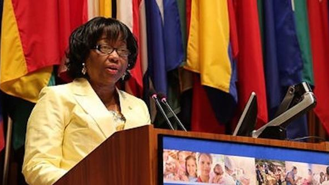 Carissa Etienne, directrice de l'Organisation panaméricaine de la santé. (DR)