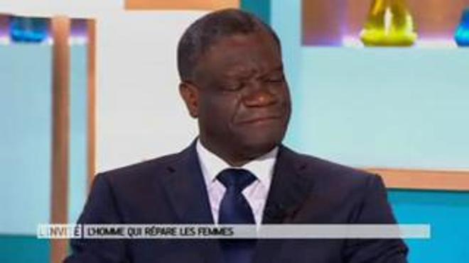 Entretien avec le Dr Denis Mukwege, invité du Magazine de la santé du 24 octobre 2016