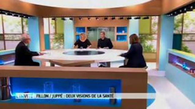 Fillon/Juppé : deux visions de la santé - Débat du 23 novembre 2016 sur le plateau du Magazine de la Santé