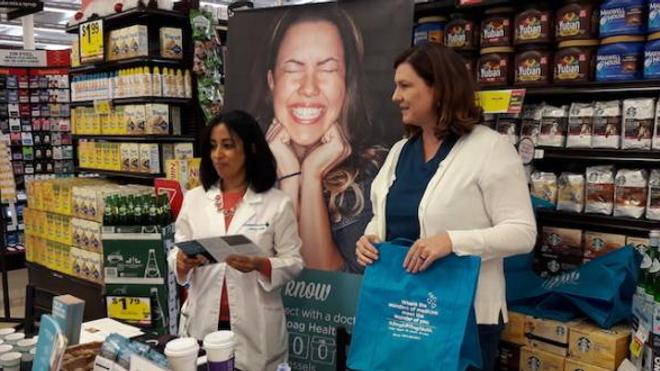 Pour lutter contre l'obésité aux Etats-Unis, des médecins interviennent dans les supermarchés - Photo : supermarché d'Irvine, dans le comté d'Orange ©Héloïse Rambert
