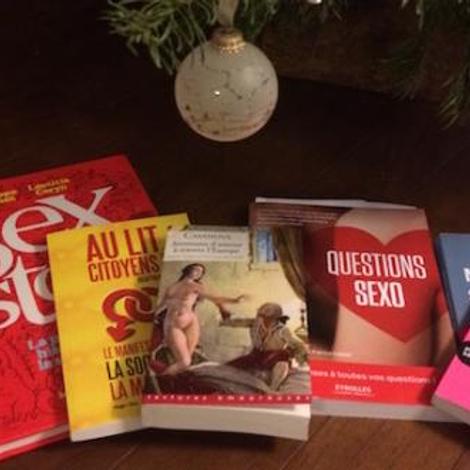 Livres sensuels à offrir à Noël