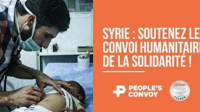 Un convoi humanitaire médical pour Alep quitte Paris aujourd'hui