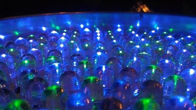 Image d'illustration de lumières LED