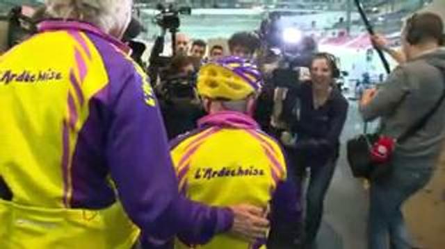 Robert Marchand : un record du monde de vélo a 105 ans!