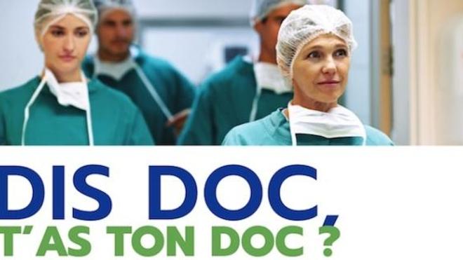 """extrait d'un des visuels de la campagne """"Dis doc t'as ton doc ? """" ©CFAR"""