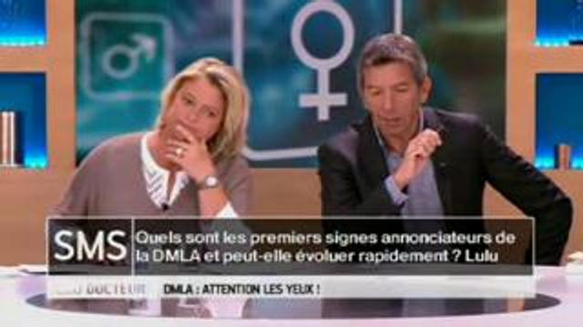 Quels sont les premiers signes de la DMLA ?