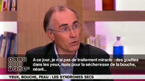 Syndromes secs : quels traitements?