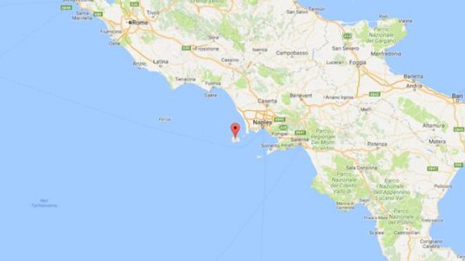 Le séisme a eu lieu sur l'île d'Ischia, au large de Naples.