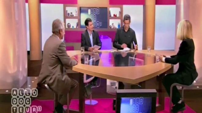 Mireille Darc était l'invitée de l'émission Allô Docteurs le 1er novembre 2010.