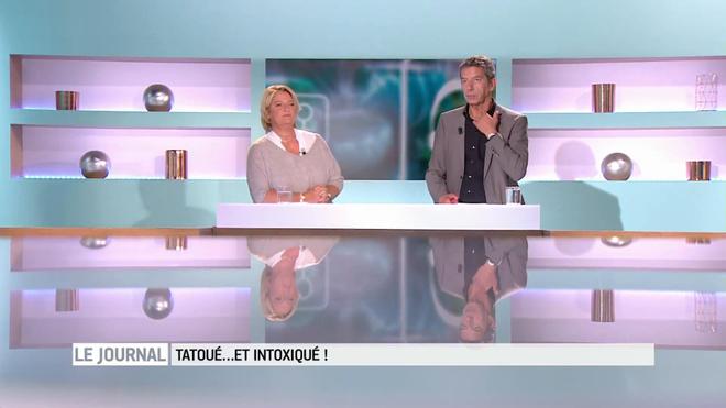 Tatouage : des nanoparticules dans les encres - Vidéo : les explications avec Marina Carrère d'Encausse et Michel Cymes