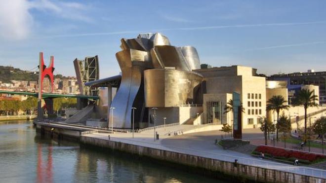 musée Guggenheim à Bilbao, ©wikimediaCommons