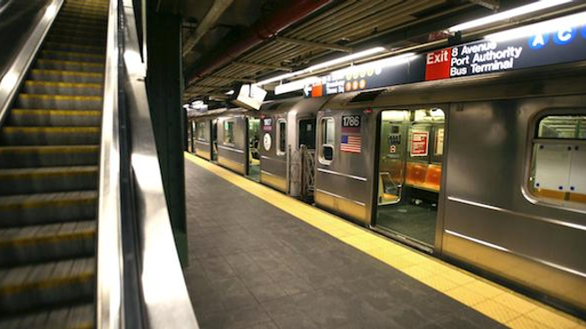 Photo du métro new yorkais.