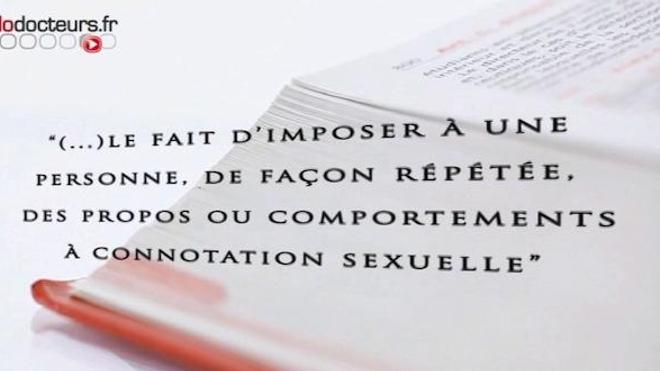 Le harcèlement sexuel est puni de deux ans d'emprisonnement et de 30.000 euros d'amende