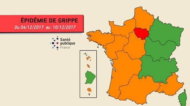 Alerte à la grippe en Île-de-France
