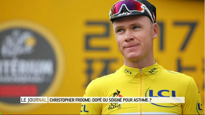 Chris Froome, quatre fois vainqueur du Tour de France, a été contrôlé positif au salbutamol.