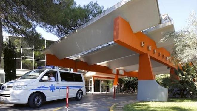 Entrée du CHU de Montpellier (crédits : Gabrielle Voinot)