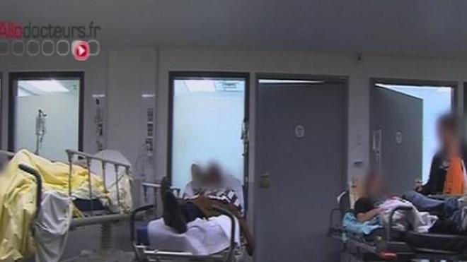 100.000 patients auraient passé la nuit sur un brancard cette année