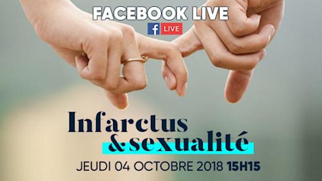 Sexualité et troubles cardiaques : les réponses à vos questions sur notre Facebook Live