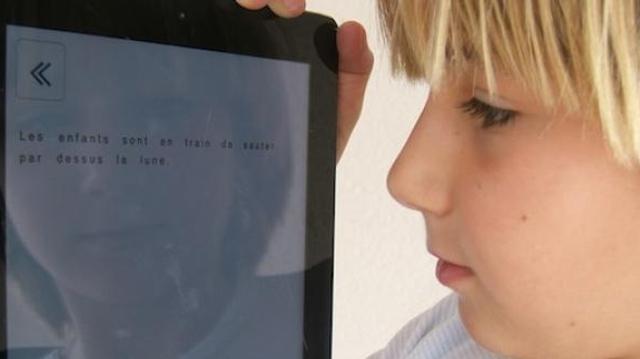 """""""Les personnes dyslexiques ont également le droit d'accéder à l'information"""""""