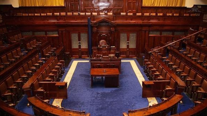 Le parlement irlandais. (cc-by-sa Tommy Kavanagh)