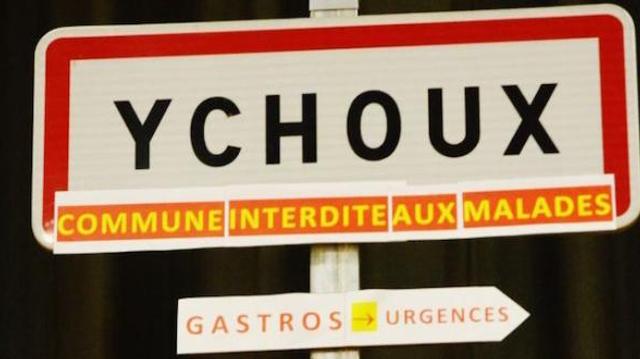 Ychoussoises, Ychoussois, vous pouvez de nouveau tomber malades !