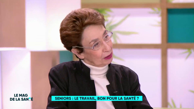 """""""Seniors : le travail, bon pour la santé ?"""", chronique du Pr Françoise Forette, médecin interniste gériatre, du 23 janvier 2019"""