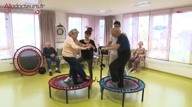 Seniors : et si vous vous mettiez au trampoline ?