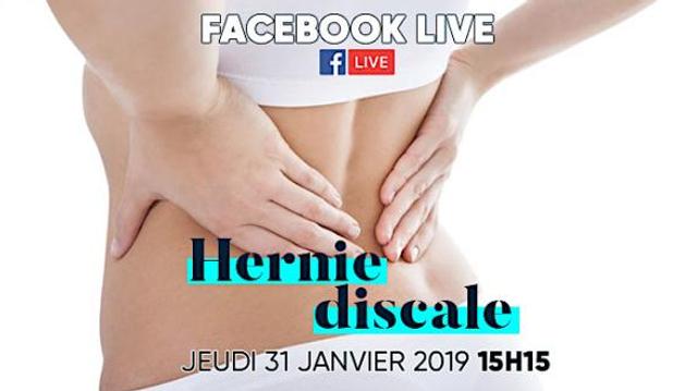 Hernie discale : les réponses à vos questions sur notre Facebook Live