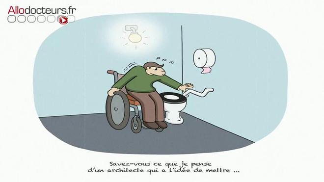 La vie en fauteuil vue par Paul Samanos