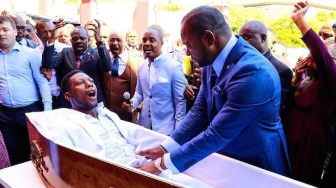 """Un pasteur prétend ressusciter un homme """"mort"""""""