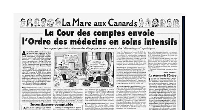 Ordre des Médecins : les révélations dérangeantes du Canard Enchaîné