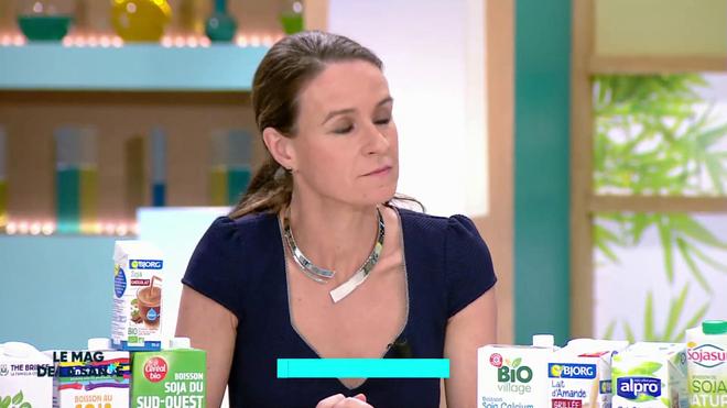 """""""Bien choisir son lait végétal"""", chronique d'Angélique Houlbert, diététicienne, du 22 mars 2019"""