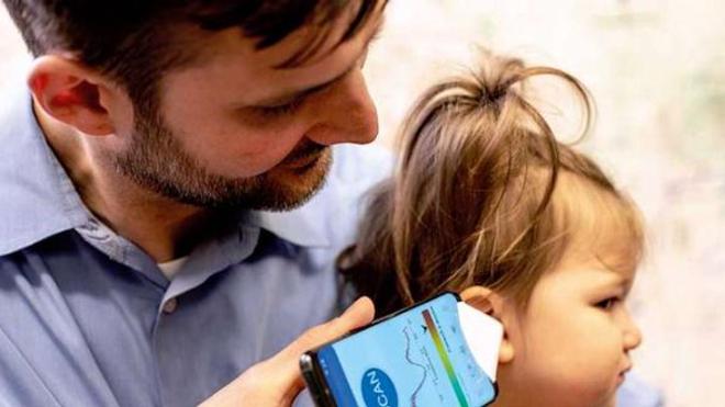 Si l'application est autorisée, les parents inquiets pourront tester l'oreille de leur enfant avant de se rendre chez le médecin.