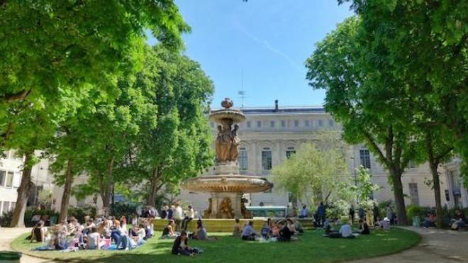 Le square Louvois