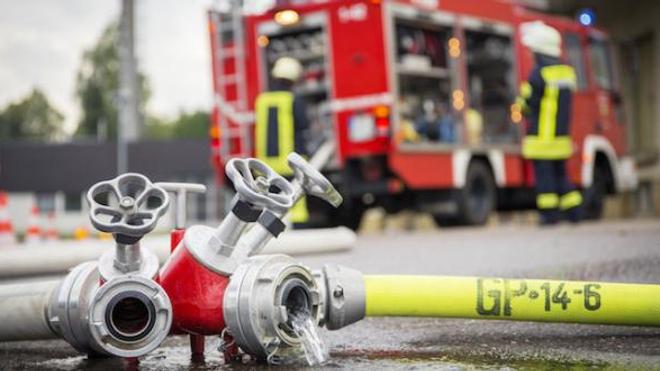 Six pompiers en alerte 24 heures sur 24 à l'hôpital Bichat