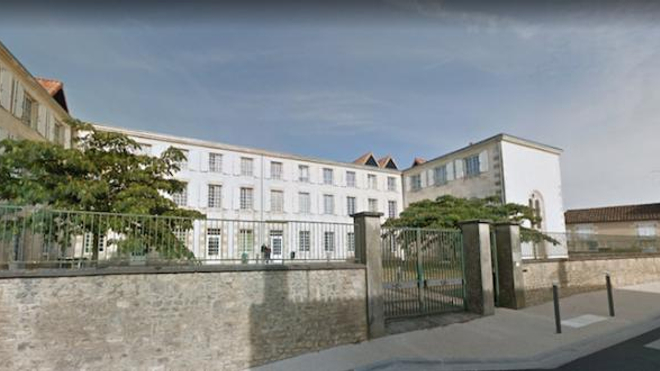 Centre psychiatrique Henri-Laborit à Nieuil-l'Espoir (Vienne).