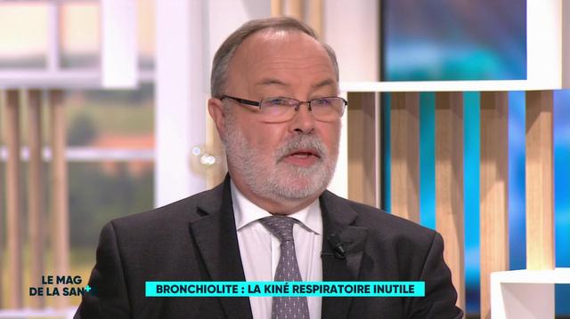 Bronchiolite : fin de la kiné respiratoire pour les bébés