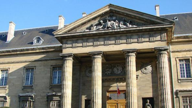 Palais de Justice de Reims.
