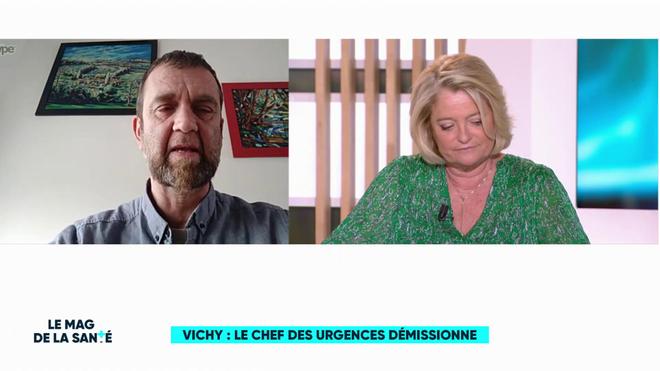 Crise de l'hôpital : le chef de service des urgences de Vichy démissionne de ses fonctions administratives