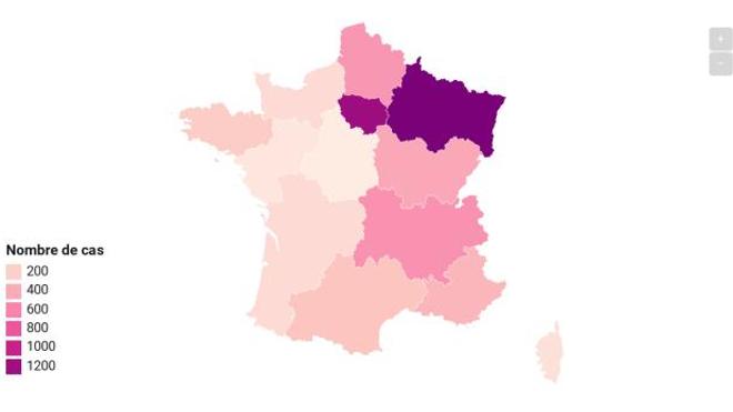 Le Covid-19 a causé plus de 120 morts au total en France.