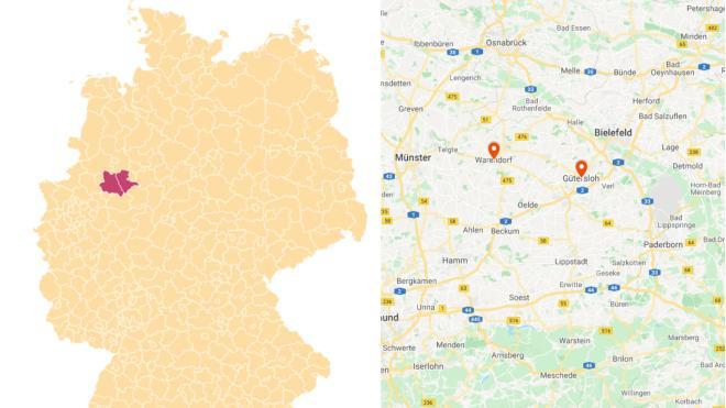 Les cantons de Gütersloh et Warendorf sont reconfinés.