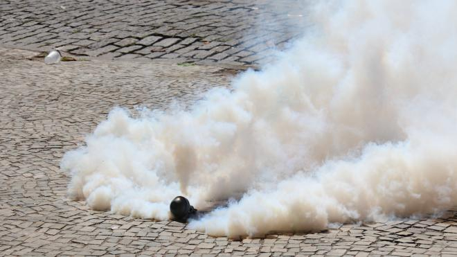 Photo d'illustration. Les gaz lacrymogènes représentent un risque pour la santé.