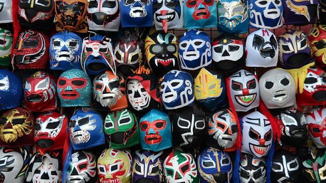 La Lucha libre est une tradition populaire au Mexique.